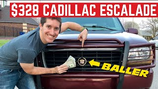 How Much CADILLAC ESCALADE Can You Buy For $328