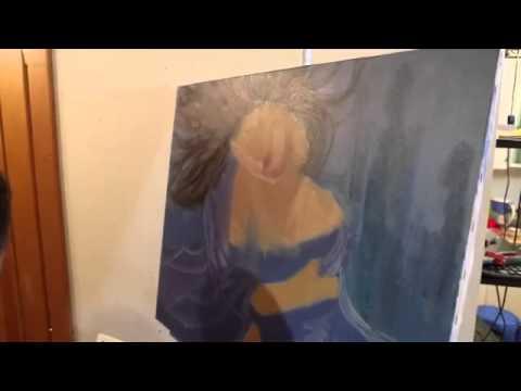 мастер класс по масляной живописи: