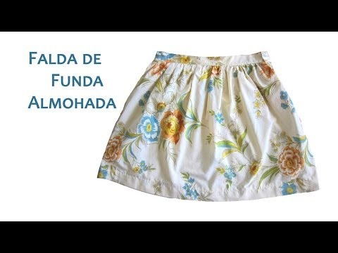 Falda de Funda de Almohada o Pillowcase Skirt