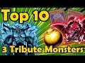 Top 10 Monsters that Require 3 Tributes in YuGiOh