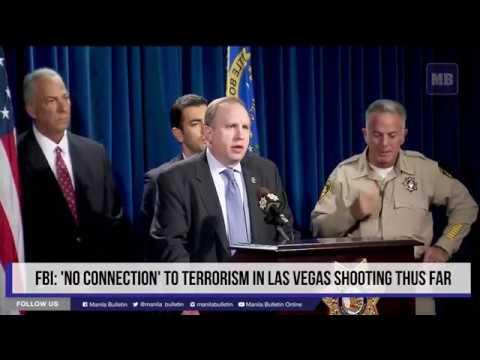 FBI: 'no connection' to terrorism in Las Vegas shooting thus far