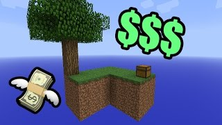 YOUTUBE GELD! (Skyblock Duo)