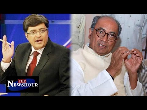 Congress Needs Major Surgery Says Digvijaya Singh: The Newshour Debate (20th May 2016)
