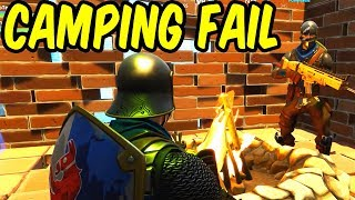 Campfire Gone Wrong - Fortnite Battle Royale Funny Moments
