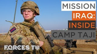 What Is The British Military Doing In Iraq? | Forces TV
