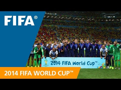 FIFA WC 2014 - Brazil vs. Netherlands - International Sign