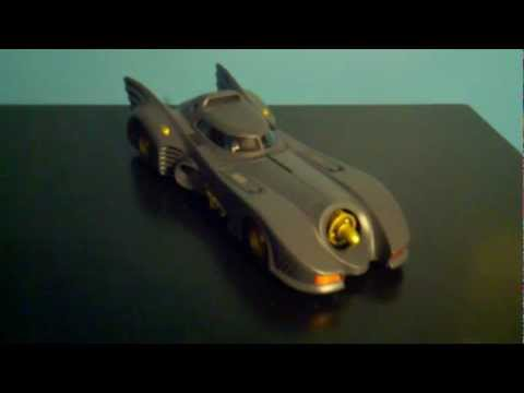 Harri927 Figure Review #2: Batman 1989 Hot Wheels Elite Batmobile REVIEW