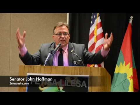 US Senator John Hoffman Speaking About Human Rights Violation Throughout Ethiopia