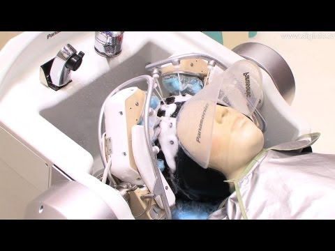Panasonic Hair-Washing Robot #DigInfo