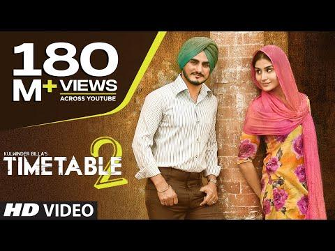 Kulwinder Billa Time Table 2 (ਟਾਈਮ ਟੇਬਲ 2) Full Video | Latest Punjabi Song 2015