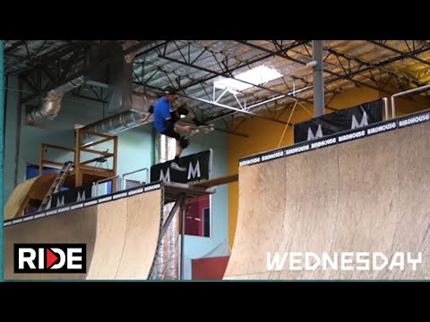 MasterClass presents Tony Hawk's NBD/Best Trick Challenge: Day 1
