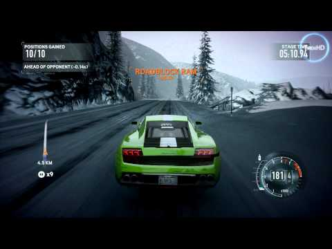 Need for Speed The Run HD gameplay RELOADED
