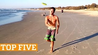 TOP FIVE: Trick Shots, Longboarding & BMX | PEOPLE ARE AWESOME 2017