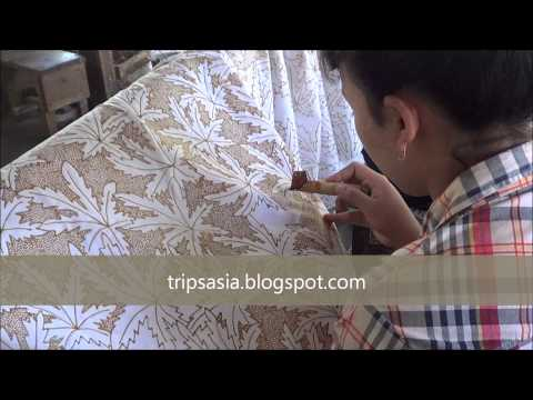 Tecnica Batik - Isola di Java Indonesia