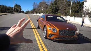New Bentley GT for my wife!?