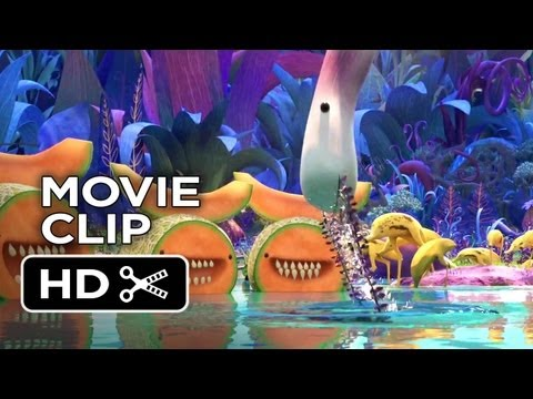 Cloudy with a Chance of Meatballs 2 Movie CLIP Foodimals 2013 HD