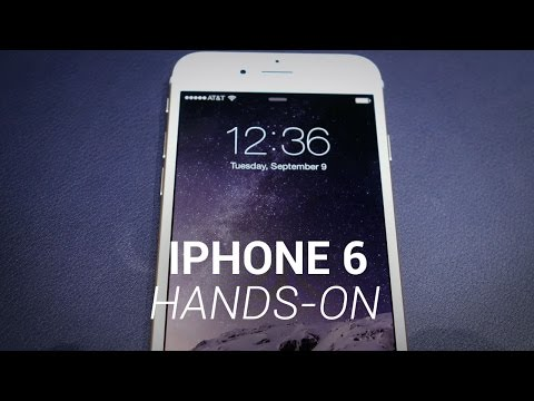 iPhone 6 Hands-On