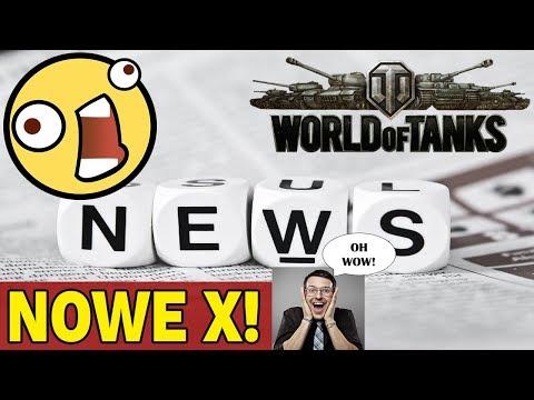 NOWE X W WORLD OF TANKS!! - NEWS