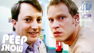 Mark & Super Hans Throw Jeremy A Stag Party! | Peep Show