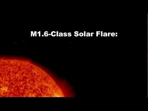SOLAR ACTIVITY UPDATE: AR1692 is crackling with C- and M-class flares. March 22nd, 2013.