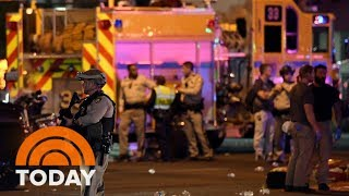 Download Lagu Las Vegas Shooting Witness: 'I Saw Guys Plugging Bullet Holes With Their Fingers' | TODAY Gratis STAFABAND