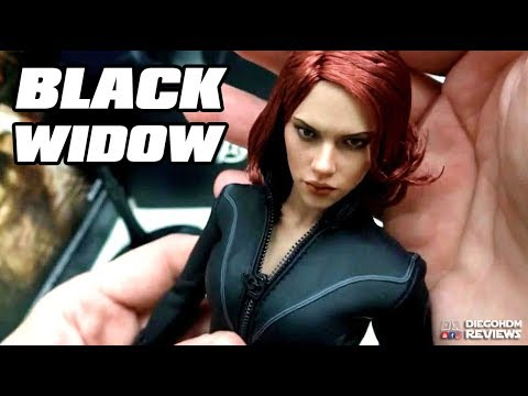 Hot Toys Black Widow - The Avengers - Unbox e Review BR