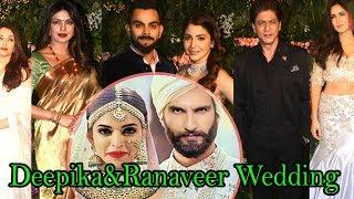 Bollywood Celebrities To Attend Deepika Padukone And Ranveer Singh Wedding | TopTelugumedia