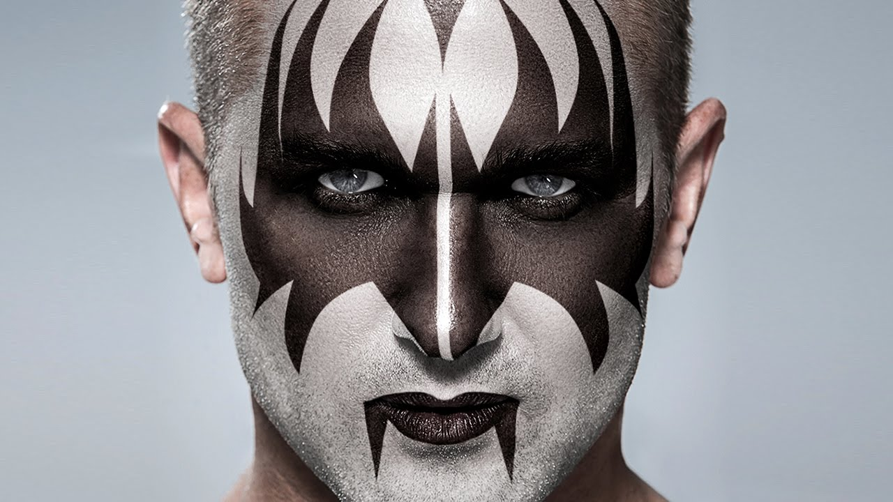 Photoshop: KISS! Apply Gene Simmons' Makeup to a Photo ...