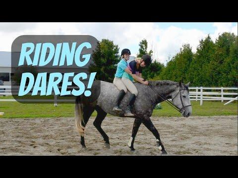 Riding dares ~ MyEquineAddiction
