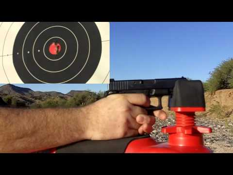 Crimson Trace Glock  Accuracy Test