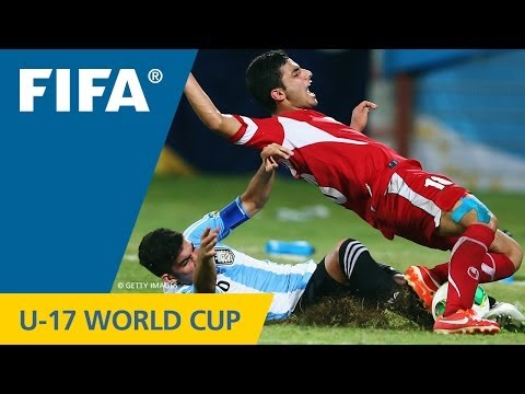 Iran - Argentina, FIFA U-17 World Cup UAE 2013: Mostafa Hashemi celebrated his 17th birthday in style by putting the Iranians ahead inside the first minute o...