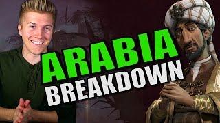 Civilization 6: Gameplay - Arabia [Leader Tips & Strategy Breakdown]