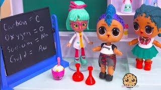 New Boy Student At School - Lol Surprise Science Class - Cookie Swirl C Toy Video