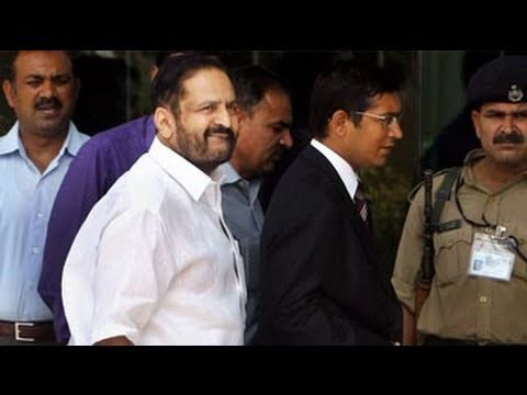 Suresh Kalmadi arrested, suspended by Congress