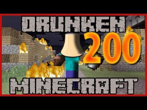 Game | Drunken Minecraft 200 THE WAR | Drunken Minecraft 200 THE WAR