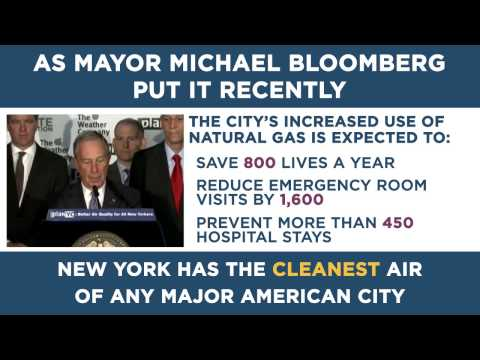VIDEO: New York Air Improves Health Thanks to Shale Gas