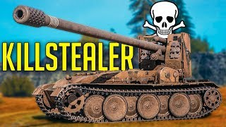 KILLSTEALER Grille aka GRILLSTEALER ► World of Tanks Grille 15 Gameplay