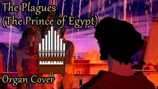 The Plagues (The Prince of Egypt) Organ Cover