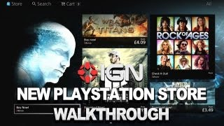 IGN's New PlayStation Store Walkthrough