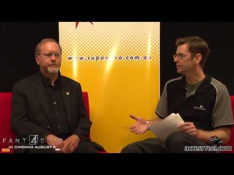 Vlog 7 Perth Supanova 2015 - Interview  Kevin J  Anderson