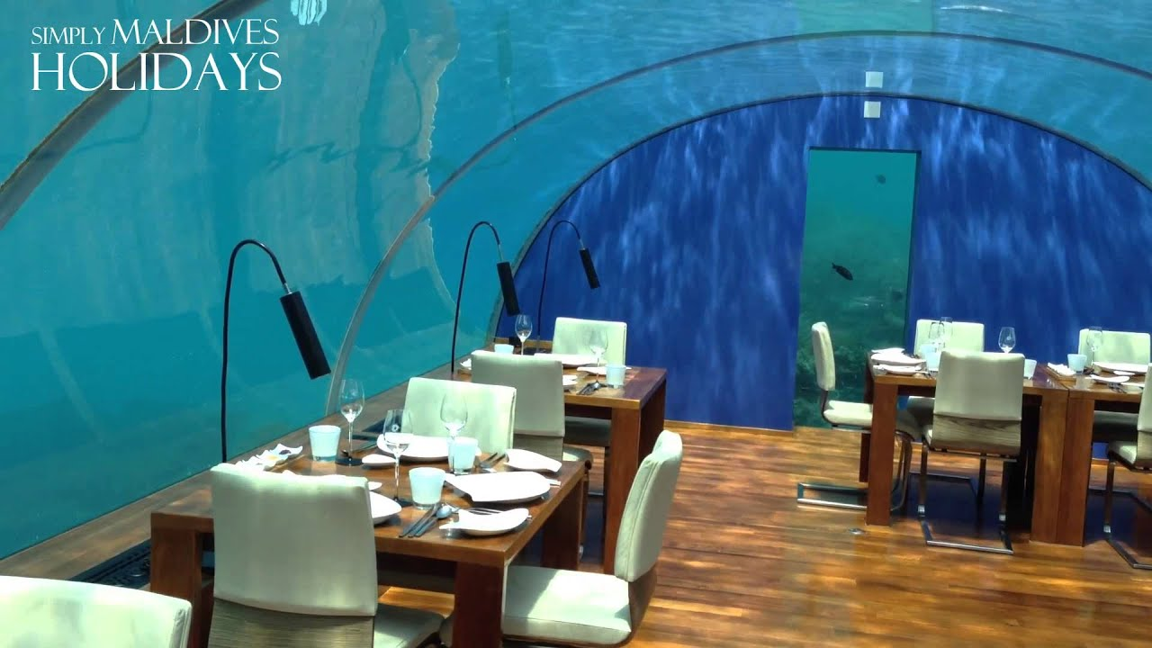 Conrad maldives ithaa underwater restaurant walkthrough for Ithaa restaurant maldives