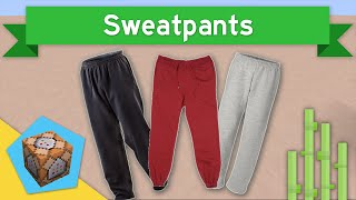 SWEATPANTS in Vanilla Minecraft 1.10+ | Sweatpants Command Block Creation