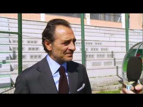 Cesare Prandelli in visita a Formello