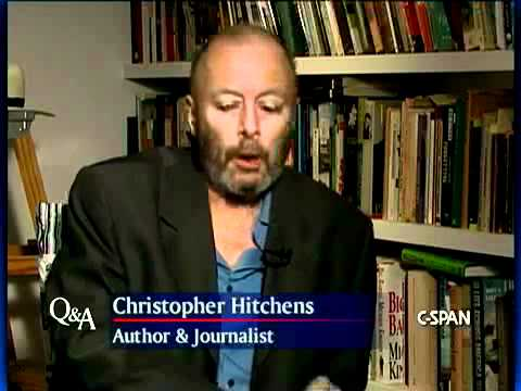 Author Christopher Hitchens