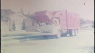 Haul-Away Rubbish 1960's Disposal Truck