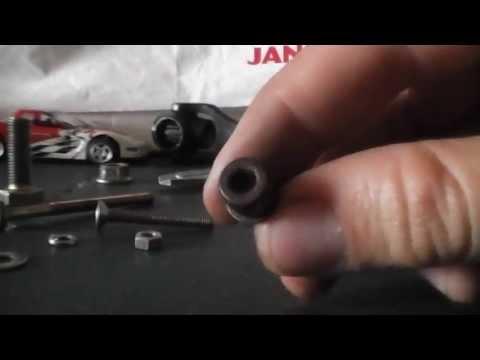 Como medir un tornillo (How to measure a bolt)