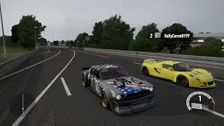 Forza 7 Drag race: Ford Hoonicorn Mustang V2 vs Hennessey Venom GT