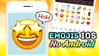 EMOJIS DO IPHONE NO ANDROID 2019