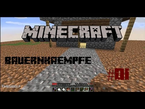 Let's Fun #008 - Minecraft BAUERNKÄMPFE - Part 1 - [Deutsch][HD]