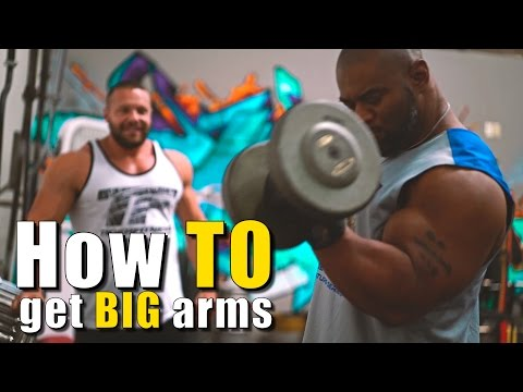 Top 8 Moves For Bigger Arms